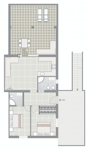 Villa Rossa II - Orhideja